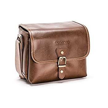 Olympus Tracker Classic Design Vintage Camera Bag (Brown)