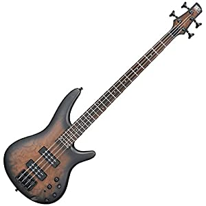 Ibanez SR400EBCW 4-String Electric Bass Guitar Natural Gray Burst by Ibanez
