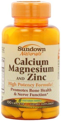 Sundown Naturals calcium, le magnésium et le