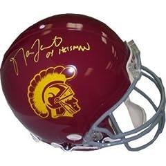 Matt Leinart Autographed Hand Signed USC Trojans Authentic Helmet 04Heisman- Leinart...
