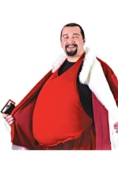 Fun World Costumes Men's Santa Belly (Stuffed)