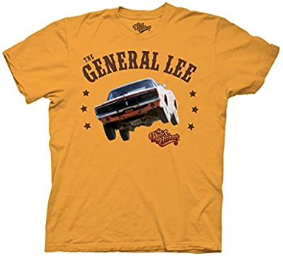 Dukes of Hazzard General Lee Gold T-shirt