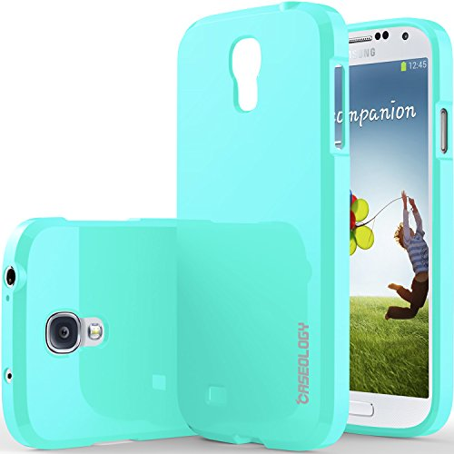 Galaxy S4 Case, Caseology [Drop Protection] Samsung Galaxy S4 Case [Turquoise Mint] Slim Fit Tpu Cover [Shock Absorbent] Armor Bumper Galaxy S4 Case (For Samsung Galaxy S4 Verizon, At&T Sprint, T-Mobile, Unlocked) front-217830