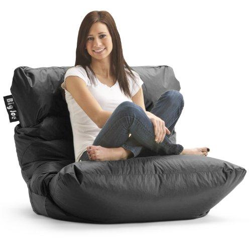 Big Joe Roma Chair, Limo Black front-995972