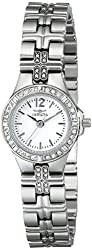 Invicta Women's 0126 II Collection Crystal-Accented Stainless Steel Watch