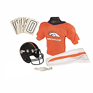 Franklin Sports NFL Denver Broncos Deluxe Youth Uniform Set, Medium