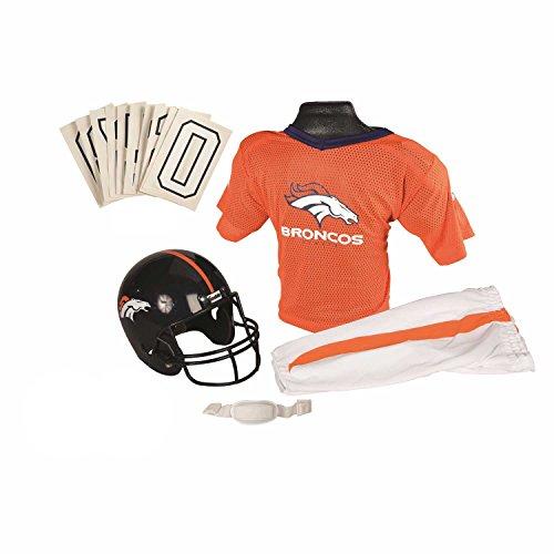 Franklin Sports Nfl Denver Broncos Deluxe Youth Uniform Set, Small front-343020