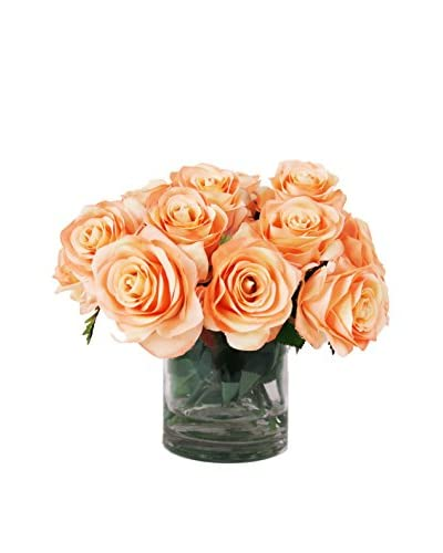 Creative Displays Rose Water Bouquet, Peach