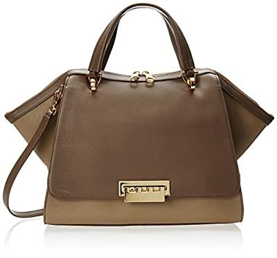 ZAC Zac Posen Eartha Soft Double Top Handle Bag