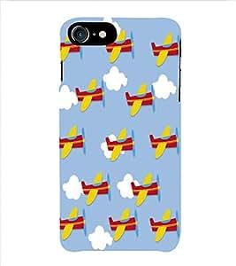 HiFi Designer Phone Back Case Cover Apple iPhone 6S :: Apple iPhone6S ( Aeroplane Colorful Pattern Design )