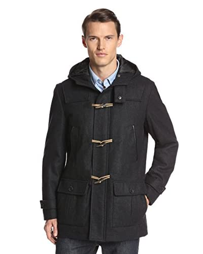 Nautica Men's Hooded Duffel Coat