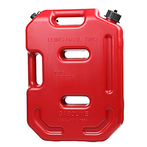 AULLY PARK Poly Gas Can with Flexible Spout - 2.6 Gallon Capacity (Gas Can For Atv compare prices)