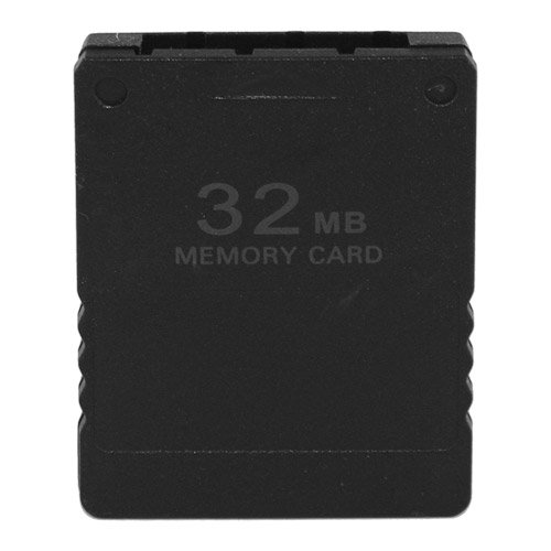 Skque 32MB Speicherkarte Memory Card f&#252;r Sony PlayStation 2 PS2 Slim, schwarz, Sony PSP