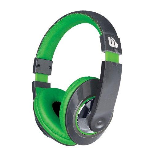 Urban Beatz Tempo Stereo Headphones - Green/Grey (M-Hl876)