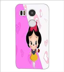 PrintDhaba Cartoon D-2915 Back Case Cover for LG NEXUS 5X (Multi-Coloured)