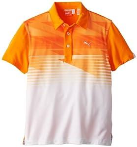 Buy Puma Golf NA Boy's Junior Indigital Polo Shirt by PUMA