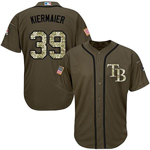 Tampa Bay Rays #39 Kevin Kiermaier Green Baseball Jersey