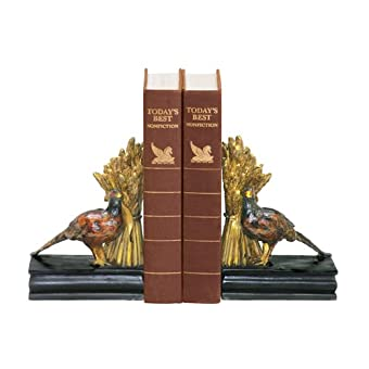 Sterling Home Pair of Harvest Bookends