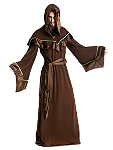 Halloween Costumes for Men Wizard Uniform Taoist Costume Sexy Party Wear Cosplay