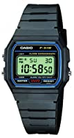 Casio -f-91w-1yer - Montre Homme- Quartz Digitale - Chronographe - Bracelet Plastique Noir by Casio