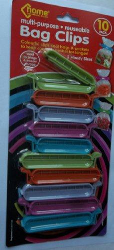 10 Clips Verschließen, Hält Lebensmittel Frisch Kühlschrank Gefrierschrank, Verschiedene Farben