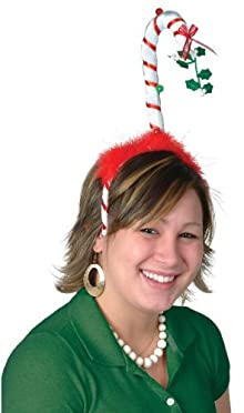 Ddi Mistletoe Candy Cane Bopper (Pack Of 48)