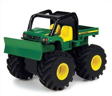 ERTL 35893 John Deere Monster Treads Pullback Tread Thrashers Gator - 1