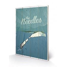 Adam McNaught-Davis - The Needles Cuadro De Madera (60 x 40cm)