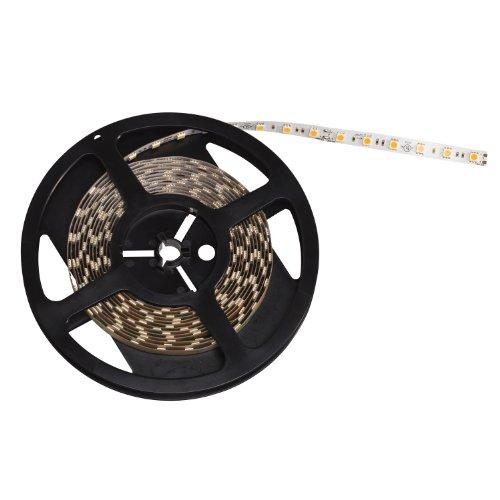 Kichler Lighting 120H30Wh Taskwork Led 20Ft 3000K 24V High Output Indoor Dry Tape Light, White Tape With White Led