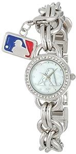Game Time Ladies MLB-CHM-ARI Charm MLB Series Arizona Diamondbacks 3-Hand Analog... by Game Time