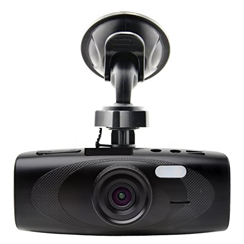 """Black Box G1W-H Hidden Dashboard Dash Cam - Wdr 160° Ultra Wide Angle 4X Zoom - Full Hd 1080P H.264 2.7"""" Lcd Car Dvr Video Recorder With Night Vision Motion Detection G-Sensor - Nt96650 + Ar0330"""