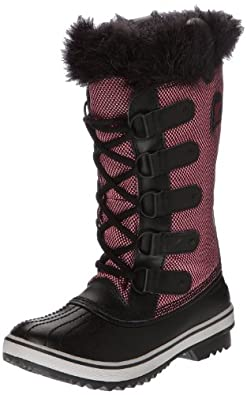 Sorel Women's Tofino Cate Waterproof Winter Boot Black 6 M US