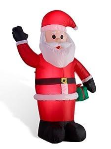 Weihnachtsmann aufblasbar LED - beleuchtet 180 cm von  in [ProductCategories]
