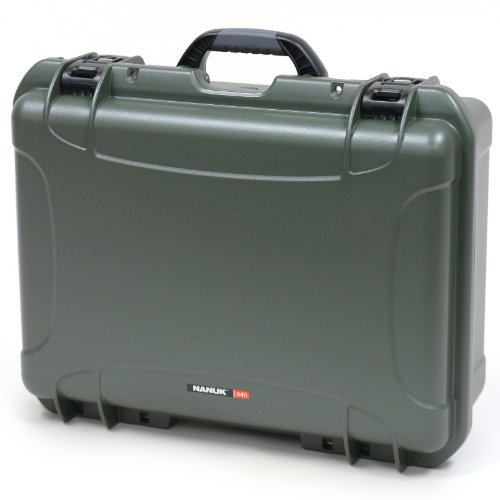 Nanuk 940 Case With Cubed Foam (Olive)