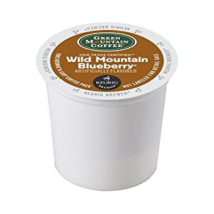 Green Mountain Wild Mountain Blueberry, 24-Count,0.33 Oz EA Net Wt. 7.9 Oz.
