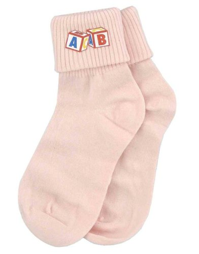 Pink Big Baby Socks - 1