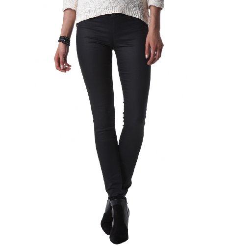 bf914c9392 Femme Jeans: Promod Jeggings enduits femme Noir 36