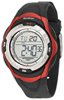 Armitron Unisex 456974RED Chronograph Black with Red Accents Digital Sport Watch from Armitron