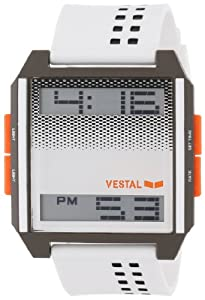 Vestal Unisex DIG001 Digichord White and Black Watch