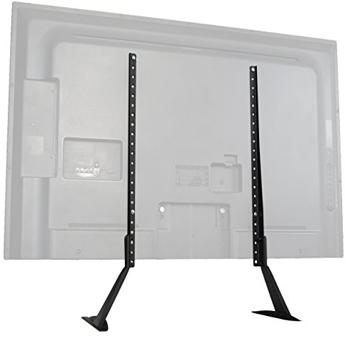 VIVO Universal LCD Flat Screen TV Table Top Stand / Base Mount fits 27