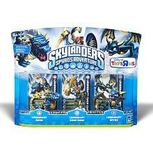 Skylanders Spyro's Adventure Character 3-Pack - Legendary