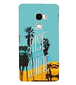 EPICCASE Rise N Shine Mobile Back Case Cover For LeTV Le Max (Designer Case)