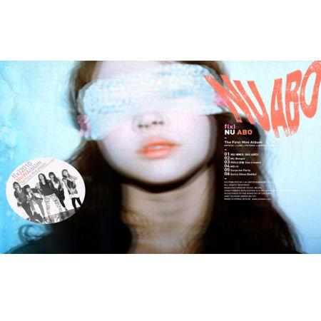 KPOP CD, F(X) - 1st Mini Album :Nu Abo[002kr]