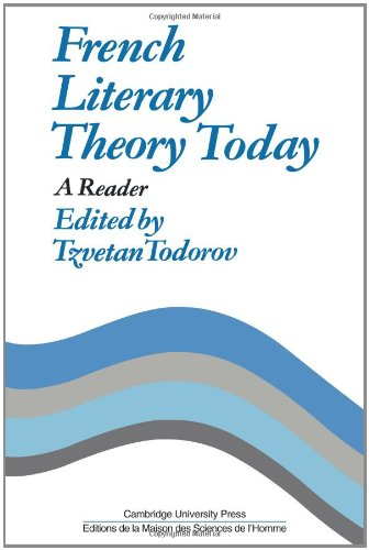 French Literary Theory Today: A Reader (Msh)