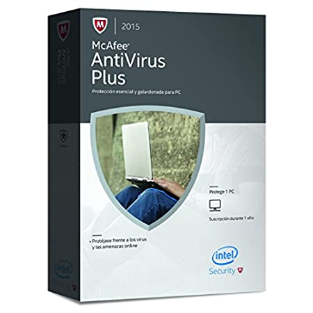 McAfee Antivirus Plus 2015 - Software De Seguridad, 1 Dispositivo