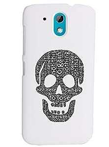 KolorEdge Back Cover For HTC Desire 526G Plus - White (2245-Ke15085HTC526GPlusWhite3D)