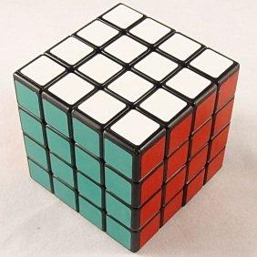 Shengshou ® 4x4x4 Puzzle Cube Black - 1