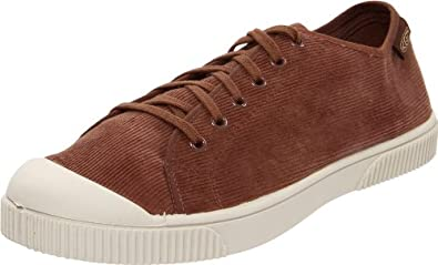 KEEN Men's Santiago Corduroy Lace-Up Shoe,Potting Soil,7 M US