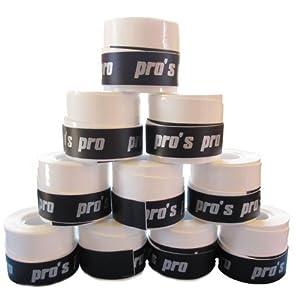 Pro's Pro overgrips blanc - pack de 10 - surgrips