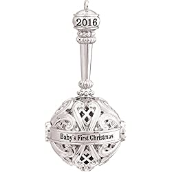 2016 Baby'S First Christmas - Carlton Heirloom Ornament